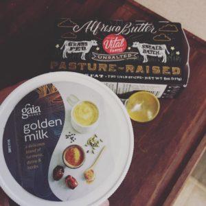 This Gaia Golden Milk blend is amazing! Dairy free sohellip