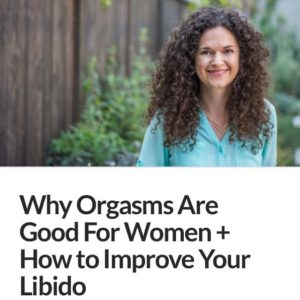 Orgasms boost oxytocin improves circulation lowers cortisol shifts in immunityhellip