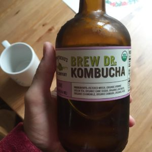 Kombucha in the morning Love kombucha to love on myhellip