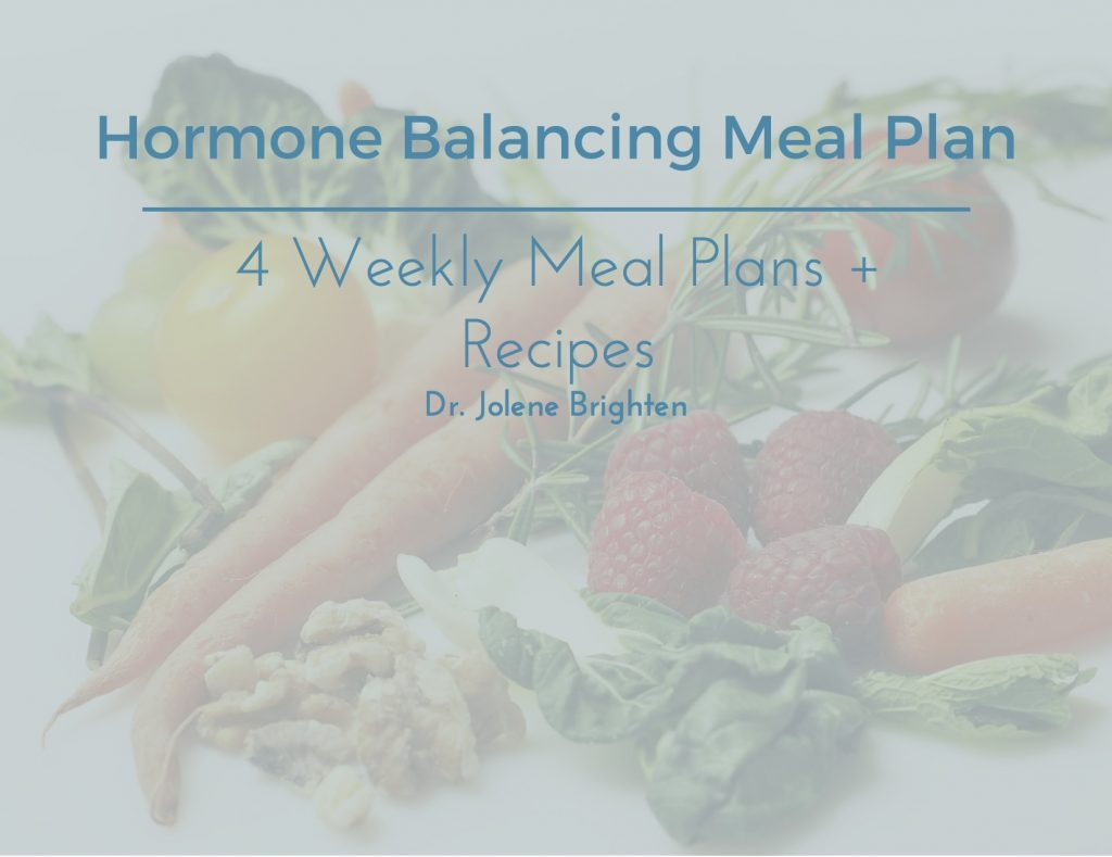 Hormone Balancing Meal Plan