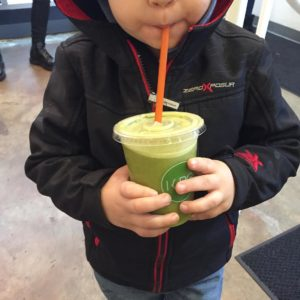 My baby likes his green juice! kurejuice makes some tastyhellip